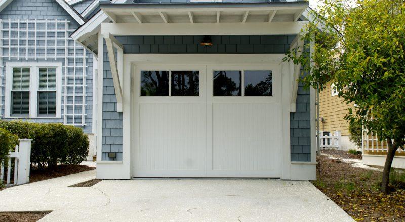 Brama garażowa - przykład